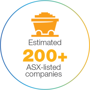 Estimated 200+ ASX-listed companies